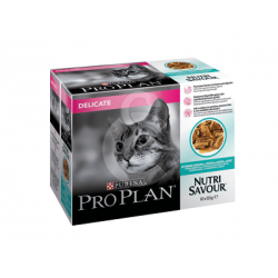 PROPLAN Cat Delicate Nutri Savour Multipack