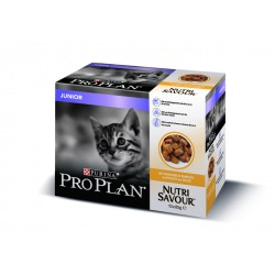 Cat Junior Nutri Savour Multipack Poulet