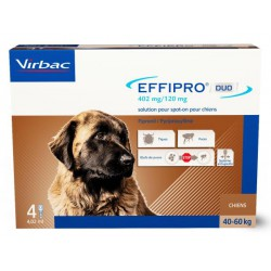 Effipro Duo 268 mg Très Grand Chien