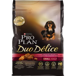 Duo Delice Adult Small Dog Saumon-Riz