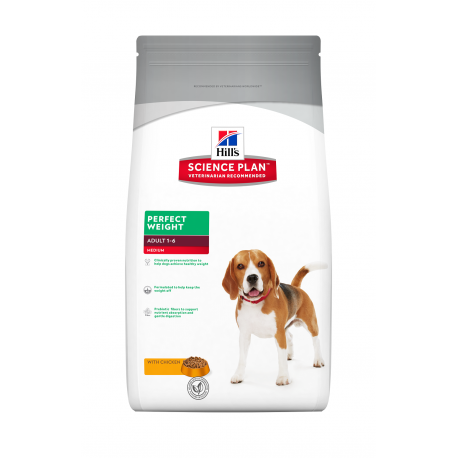 Canine Adult Medium Perfect Weight Poulet