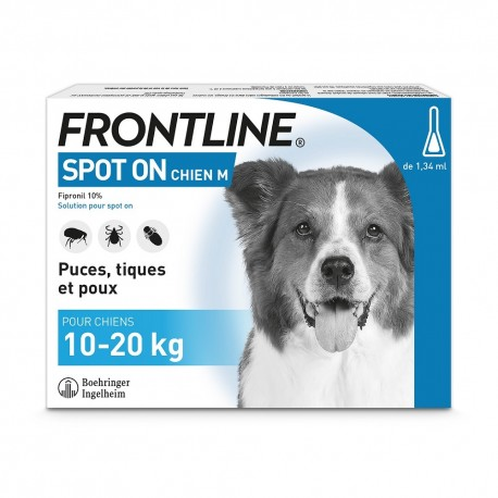 Frontline Chien Spot On de 10 à 20 kg