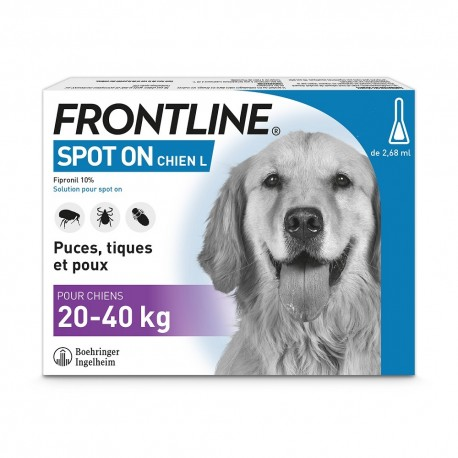 Frontline Chien Spot On de 20 à 40 kg