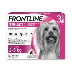Frontline Tri-Act XS Chien 2 à 5 kg