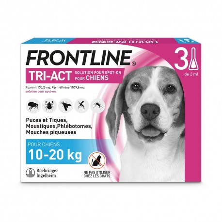 Frontline Tri-Act M Chien 10 à 20 kg