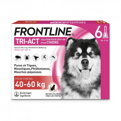 Frontline Tri-Act XL Chien 40 à 60 kg