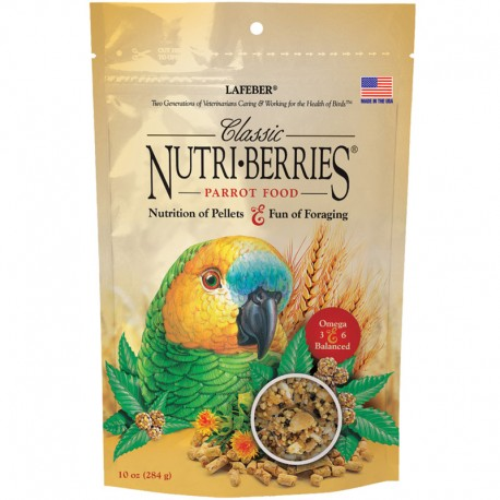 Nutry-Berries Classic Parrot