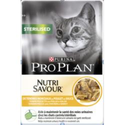 Cat Sterilised Nutri Savour Poulet