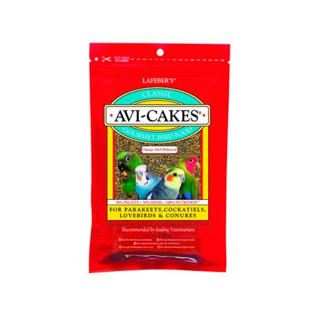 Avi-Cakes (Parakeet & Cockatiel)