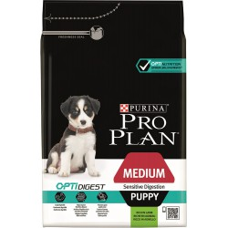 Dog Puppy Medium Sensitive Digestion Optidigest - Agneau