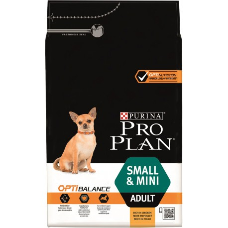 Dog Adult Small & Mini Optihealth Poulet