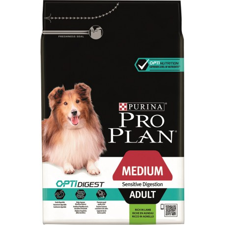 Dog Adult Medium Sensitive Digestion Optidigest - Agneau