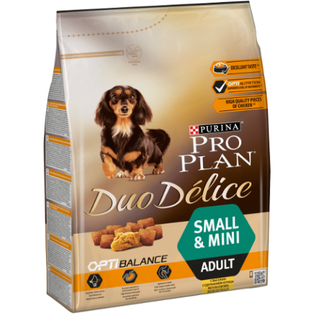 Duo Delice Adult Small Dog Poulet-Riz