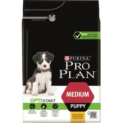 Dog Puppy Medium Optistart Poulet