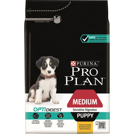 Dog Puppy Medium Sensitive Digestion Optidigest - Poulet