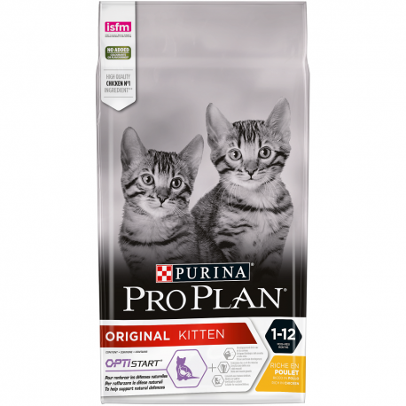 Cat Original Kitten Optistart Poulet