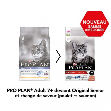 Cat Original Adult Longevis Saumon