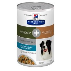Canine Metabolic + Mobility Mijotés Thon et Légumes