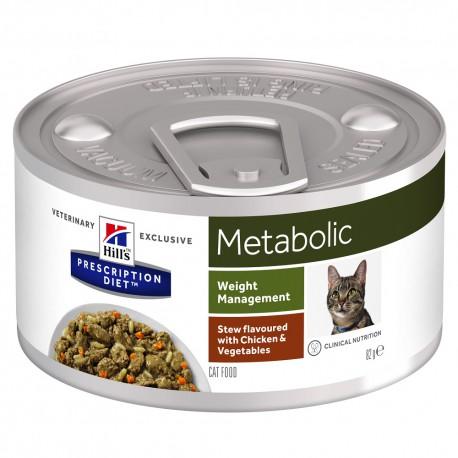 Feline Metabolic Mijotés Poulet et Légumes